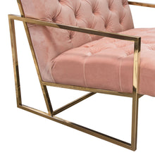 Load image into Gallery viewer, Luxe Blush Accent Chair - Voguish Furniture