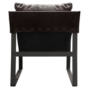 Miller Leather Accent Chair - Voguish Furniture