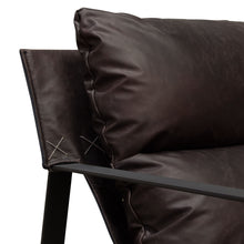 Load image into Gallery viewer, Miller Leather Accent Chair - Voguish Furniture