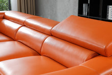 Load image into Gallery viewer, S-1843 Full Grain Italian Leather Sectional - Voguish Furniture