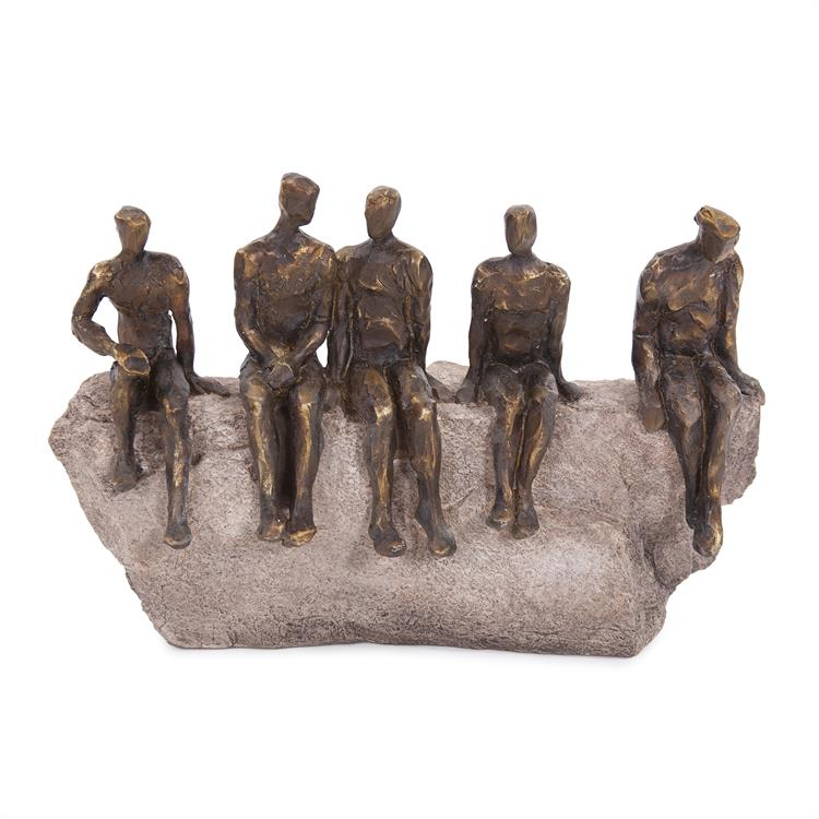 Waiting Figures Statue - Voguish Furniture