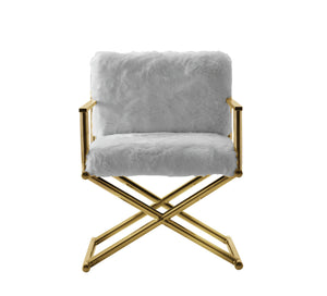 Diva Fur Accent Chair - Voguish Furniture