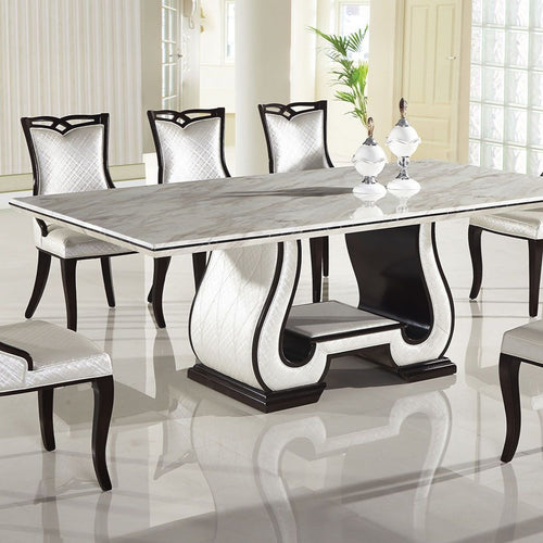 Marble Top Dining Table - Voguish Furniture