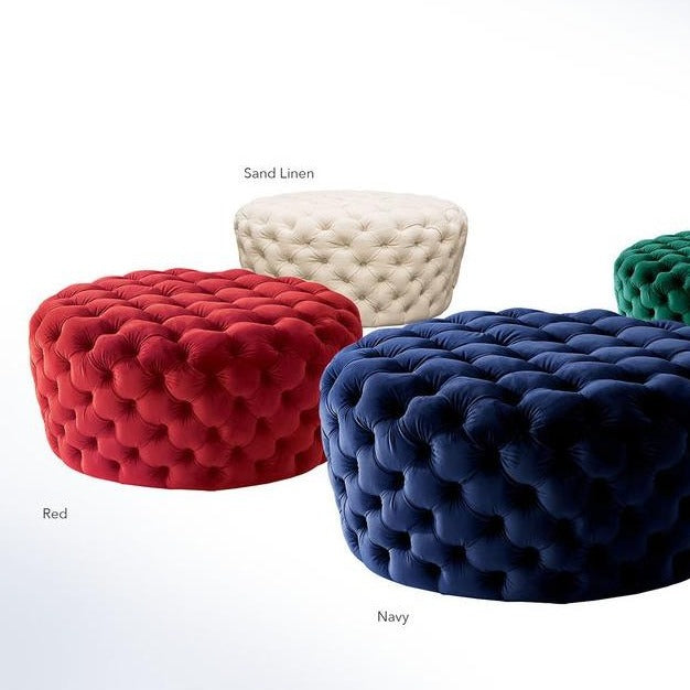 Posh Ottoman - Voguish Furniture
