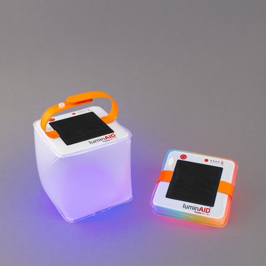 Blank Sample: PackLite USB Dual-Charge Solar Lanterns