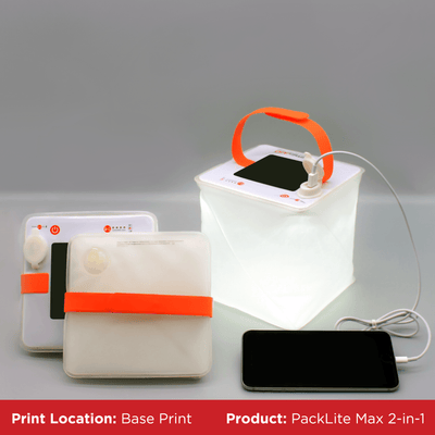 Custom PackLite Max 2-in-1 Phone Charger Lantern