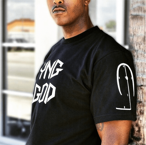 The YNGGOD premium tee — We're all YNG GODS you know. Own it and...