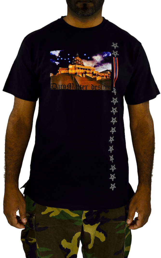 DarqMatterDesign CutnSew T-Shirts Small / Black Capitol Knowledge