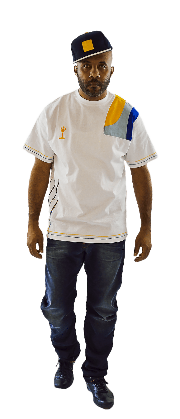 DarqMatterDesign CutnSew T-Shirts Medium / White Lucid