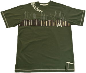 DarqMatterDesign CutnSew T-Shirts Medium / Olive Green Cherokee