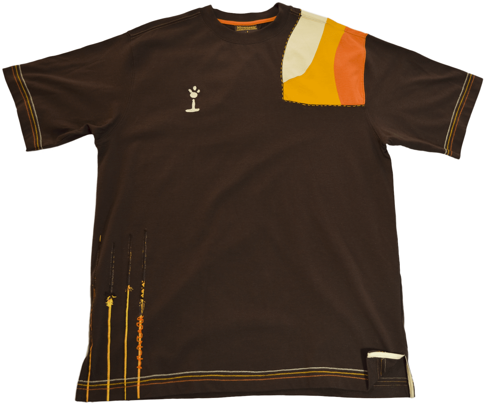 DarqMatterDesign CutnSew T-Shirts Medium / Volcano Brown Lucid