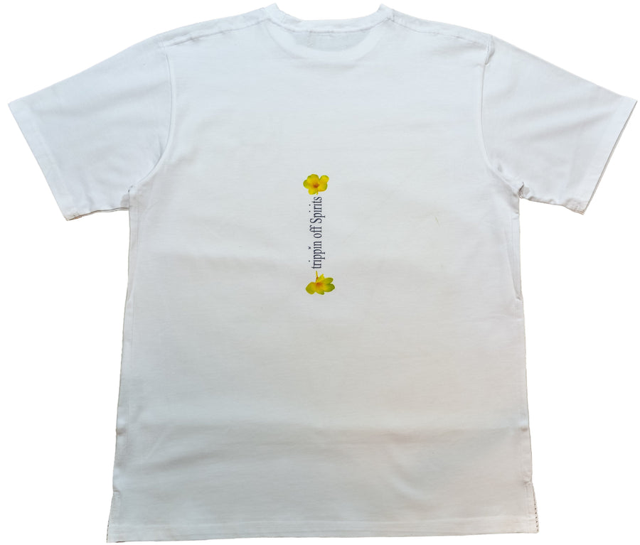 DarqMatterDesign CutnSew T-Shirts Small / White MunMuerta