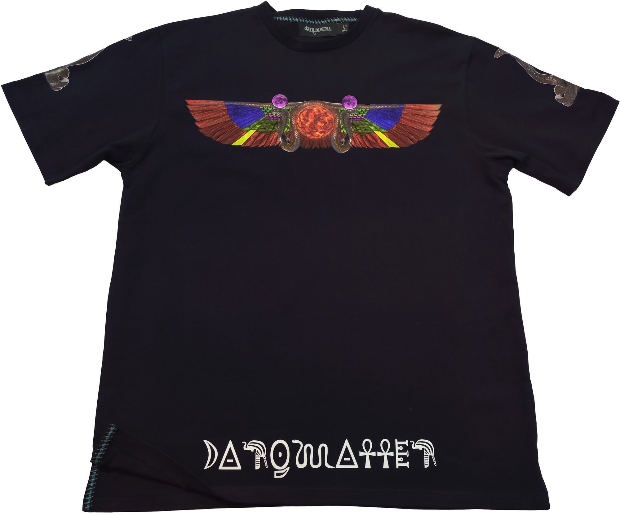 DarqMatterDesign CutnSew T-Shirts Small / Black Amen-Ra