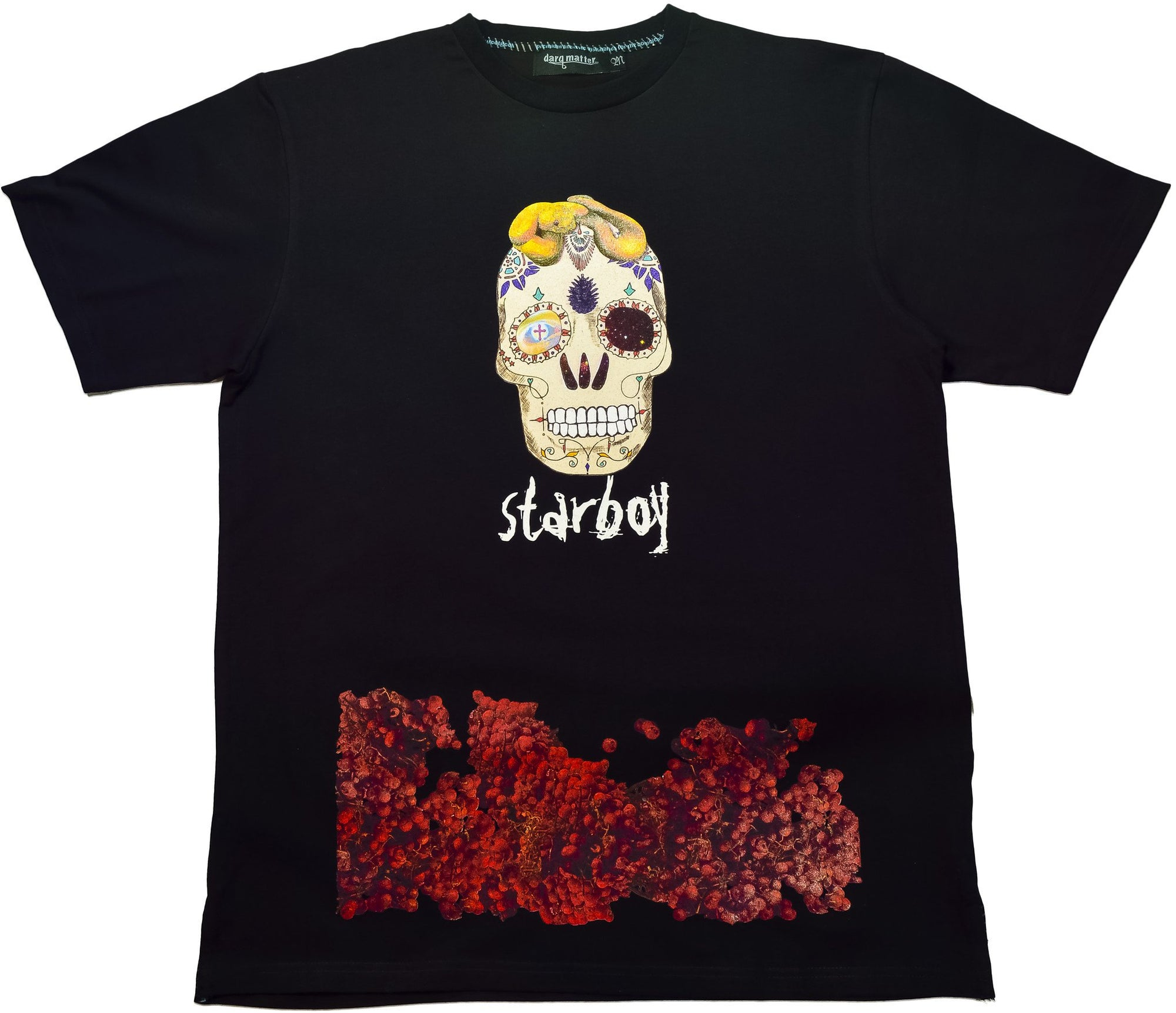 DarqMatterDesign CutnSew T-Shirts Small / Black Starboy