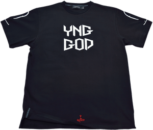 DarqMatterDesign CutnSew T-Shirts Small / Black Yng God