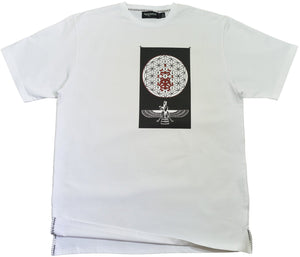 DarqMatterDesign CutnSew T-Shirts Small / White Annunaki Blood