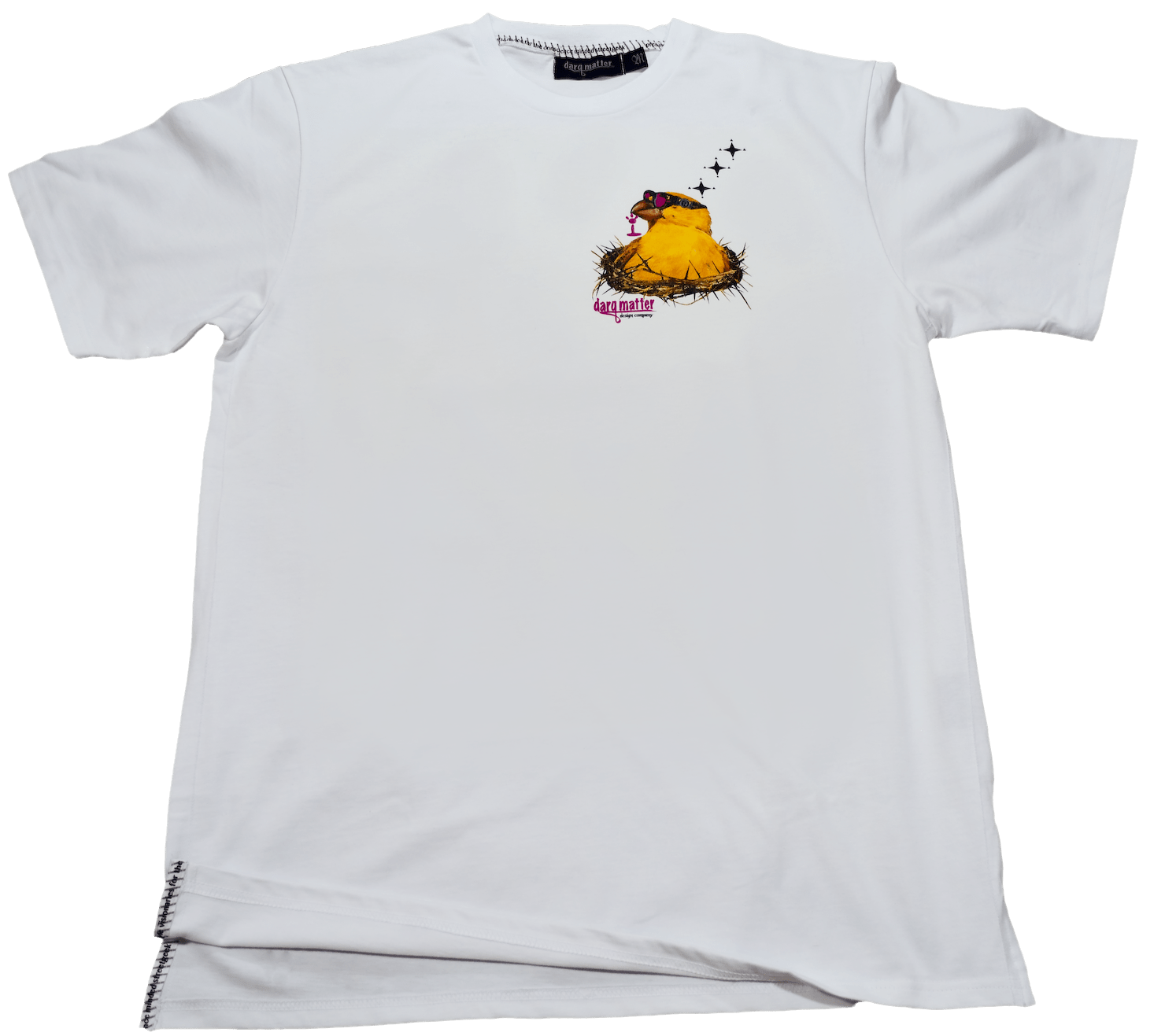 DarqMatterDesign CutnSew T-Shirts Small / White BilderBerd