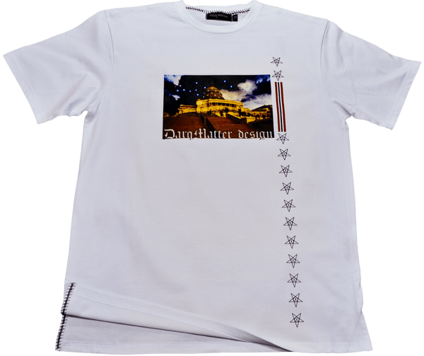 DarqMatterDesign CutnSew T-Shirts Small / White Capitol Knowledge