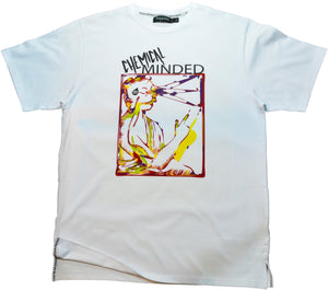 DarqMatterDesign CutnSew T-Shirts Small / White Chemical Minded