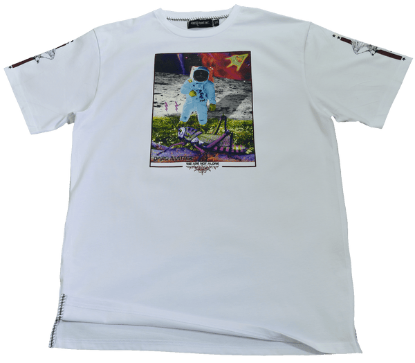 DarqMatterDesign CutnSew T-Shirts Small / White HardBody