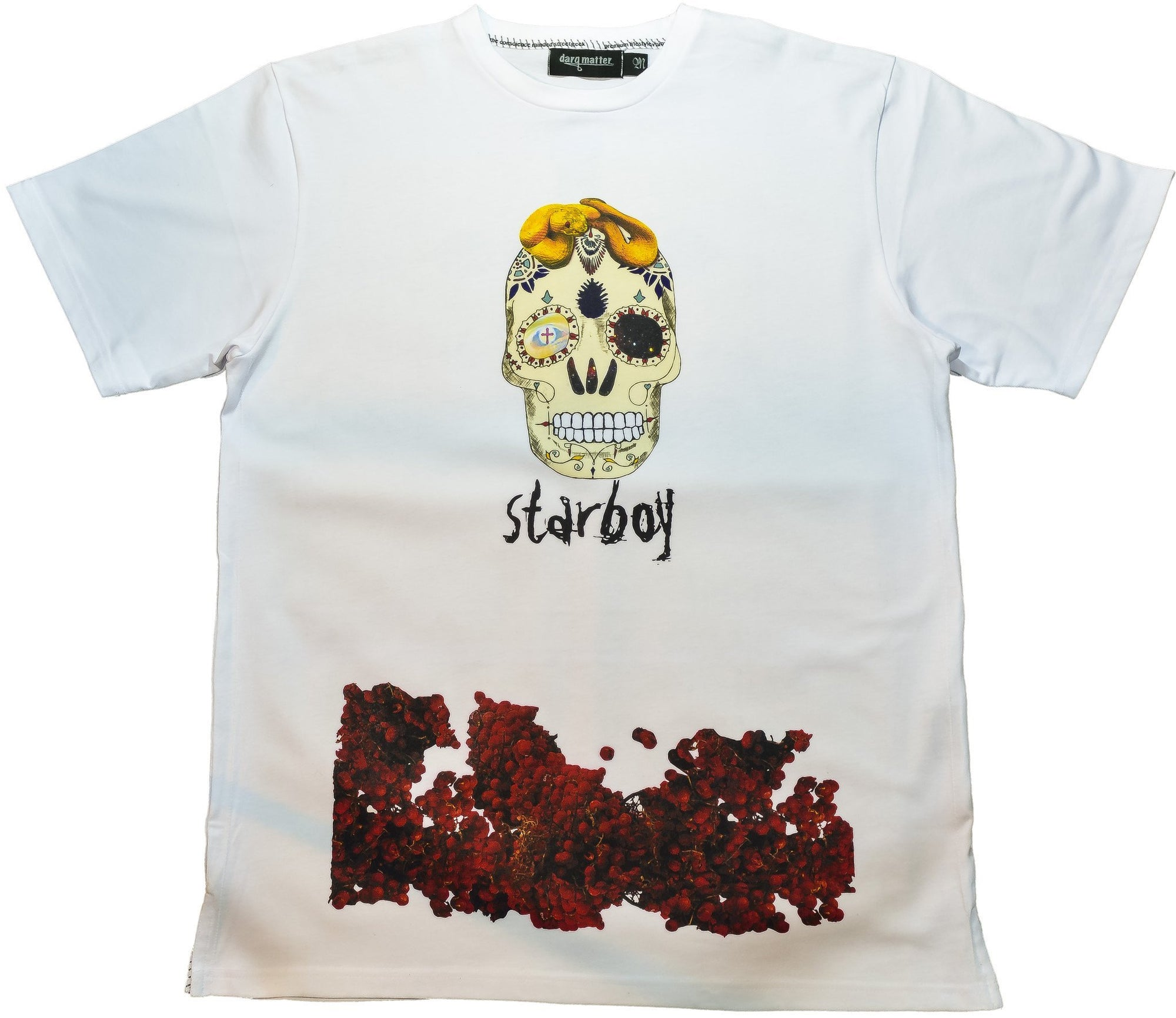 DarqMatterDesign CutnSew T-Shirts Small / White Starboy