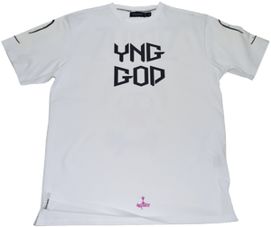 DarqMatterDesign CutnSew T-Shirts Small / White Yng God