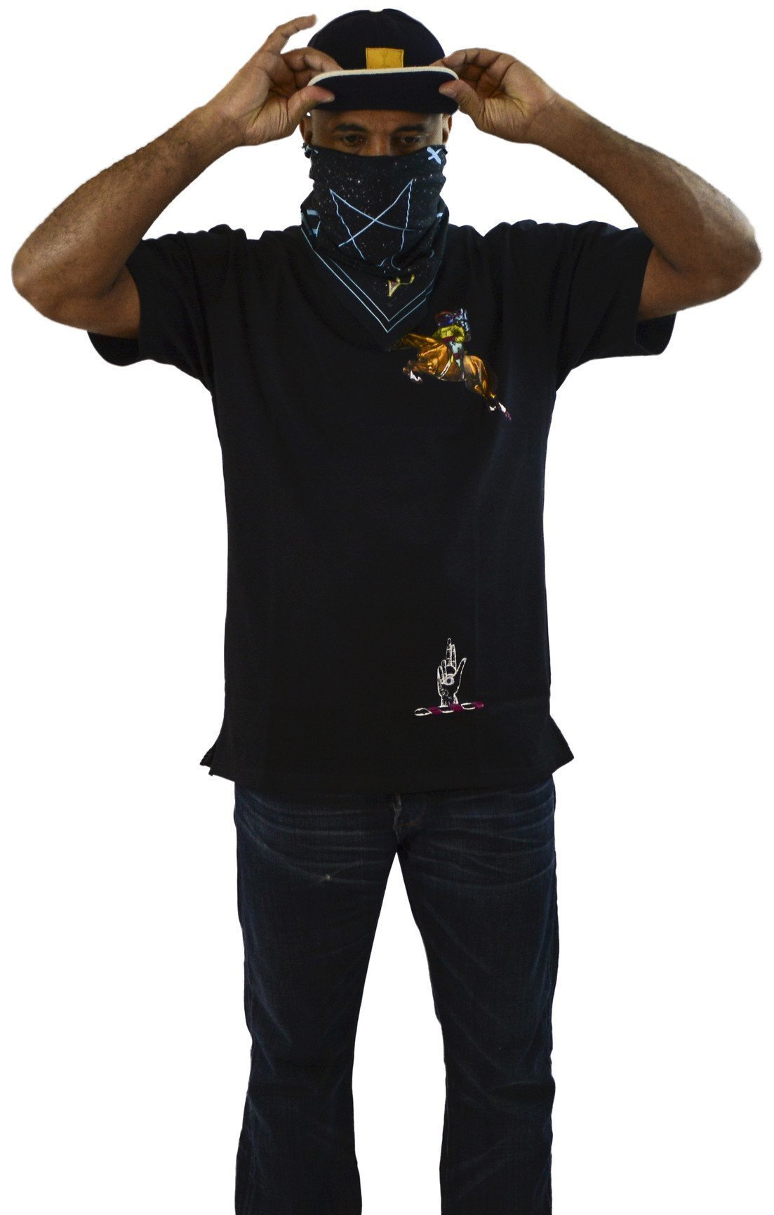 DarqMatterDesign CutnSew T-Shirts Small / Black ThoroughBred