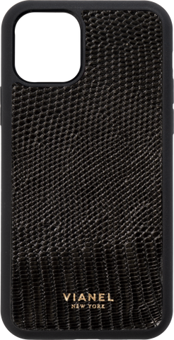 iPhone 12 Flex Case - Lizard - Black