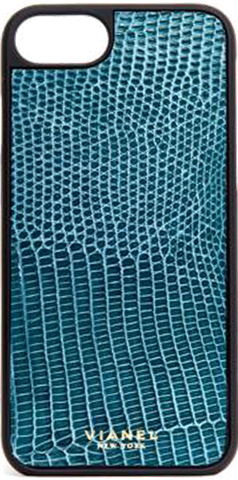 iPhone 7 and 8 Case - Lizard - Blue Jean