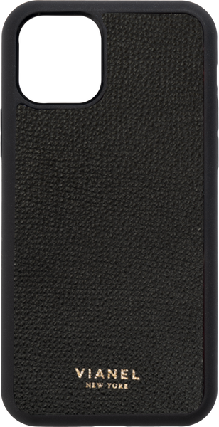 iPhone 11 Flex Case - Calfskin - Black