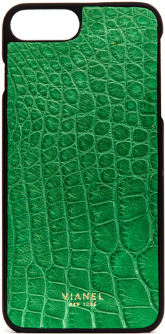 iPhone 7 Plus and 8 Plus Case - Alligator - Kelly Green