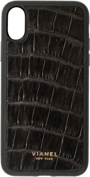 iPhone Xs MAX Flex Case - Alligator - Black