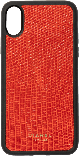 iPhone X and Xs Flex Case - Lizard - Red