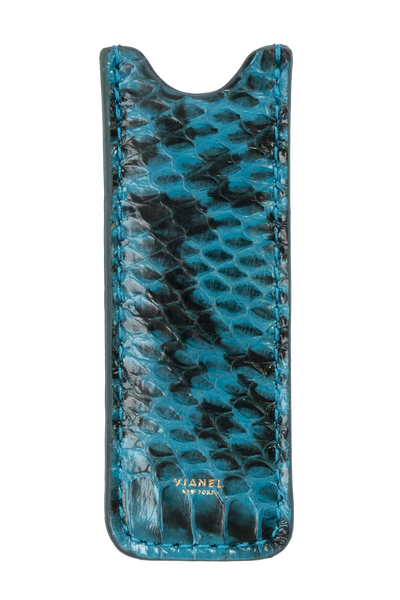 Vape Case - Snake - Turquoise With Black