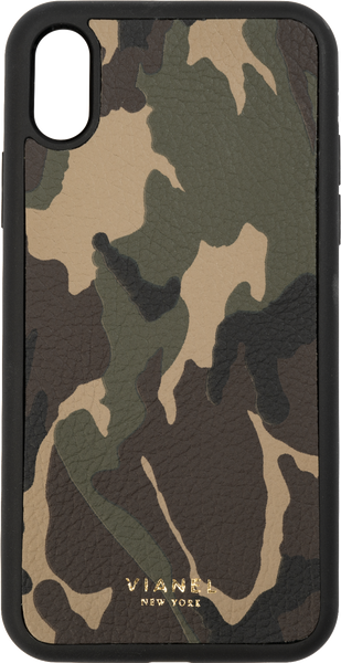 iPhone Xs MAX Flex Case - Calfskin - Camo