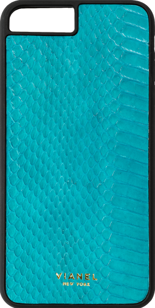 iPhone 8 Plus Flex Case - Snake - Turquoise
