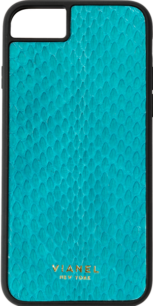 iPhone 8 Flex Case - Snake - Turquoise