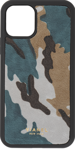 Calfskin / Teal Camo / More than 10 letters