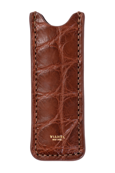Vape Case - Gator - Light Brown