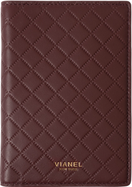 Lambskin / Wine Quilted | Front