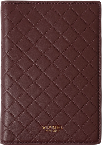 Lambskin / Wine Quilted