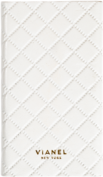 Lambskin / White Quilted