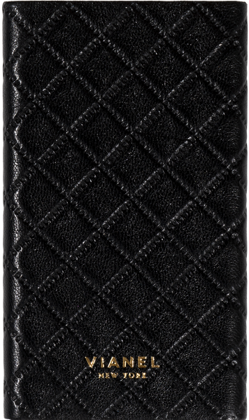 Lambskin / Black Quilted