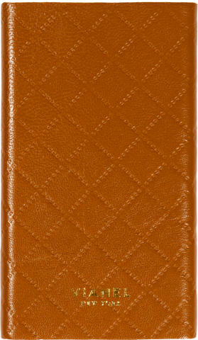 Lambskin / Tan Quilted