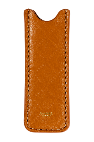 Vape Case - Lambskin - Tan Quilted