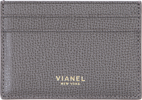 V3 Card Holder - Calfskin - Light Grey