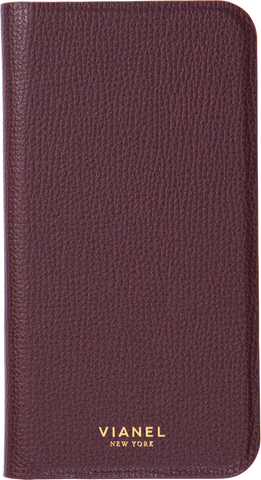 Calfskin / Oxblood / More than 10 letters