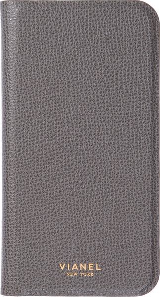 Calfskin / Grey / Less than 10 letters