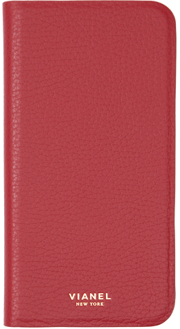 Calfskin / Red / Less than 10 letters