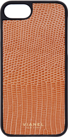 iPhone 7 and 8 Case - Lizard - Salmon
